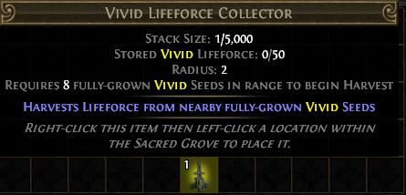 Vivid Lifeforce Collector