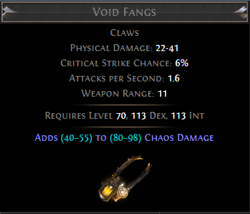 Void Fangs