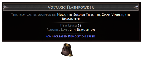 Voltaxic Flashpowder