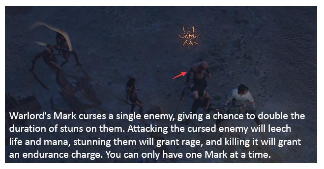 Warlord's Mark Build