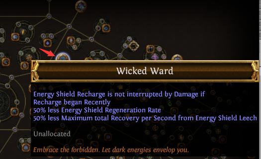 Wicked Ward PoE