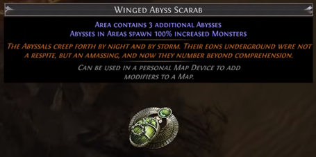 Winged Abyss Scarab PoE