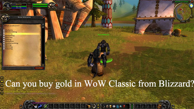 Can you buy gold in WoW Classic from Blizzard?