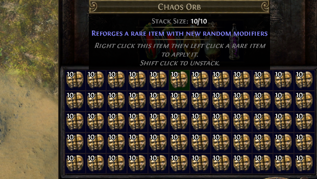 PoE Chaos Orb Recipe, Farming 2019, Price & Vendor Recipes